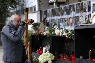 Comemorarea victimelor tragediei din Colectiv