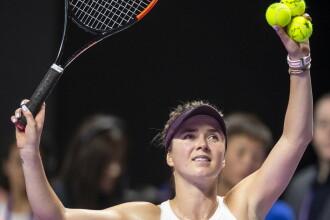 Reacția Elenei Svitolina după victoria din meciul cu Simona Halep
