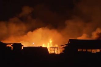 Castel celebru din Japonia, inclus în patrimoniul UNESCO, distrus de un incendiu. VIDEO