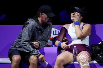 Bianca Andreescu se retrage de la Turneul Campioanelor, după meciul cu Pliskova
