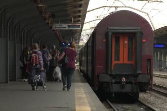 Proiect european: Din 2024, CFR va trebui să despăgubească călătorii dacă trenurile vor avea întârzieri
