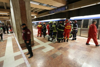 Accesul călătorilor în staţiile de metrou va fi oprit în situaţiile de urgenţă, pentru a reduce riscul de infectare