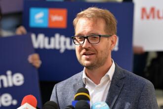 Dominic Fritz, primarul ales al Timișoara, a ieşit din izolare. Al doilea test de Covid-19, negativ