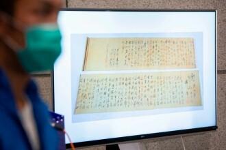 Manuscris de 252 de milioane de euro al lui Mao, rupt în două de cumpărătorul care l-a crezut fals