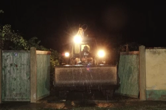 Caz misterios în Timiș. Trupul unei femei căutate de Poliție a fost îngropat în grădina casei sale