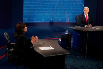 Alegeri SUA 2020. Kamala Harris şi Mike Pence, confruntare televizată a candidaţilor la funcţia de vicepreşedinte