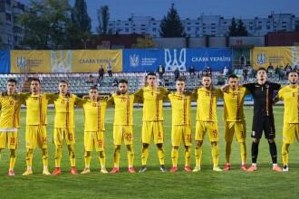 Ucraina U21 - România U21, scor 1-0, în preliminariile Euro 2021. Mutu, la prima înfrângere ca selecționer