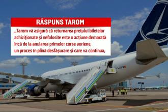Milioane de români își așteaptă încă banii pe biletele de avion cumpărate. Ce alternative au
