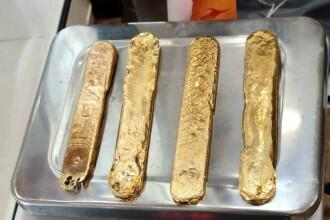 Un bărbat a ascuns 1 kg de aur în interiorul său pentru a evita taxele din aeroport