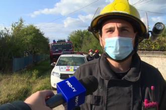 Un bărbat a murit îngropat sub un mal de pământ, pe un șantier din Dâmbovița