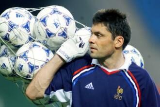Bruno Martini, fost portar al echipei Franţei, a murit la 58 de ani