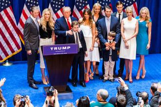Câți copii are Donald Trump și cu se ocupă aceștia. GALERIE FOTO