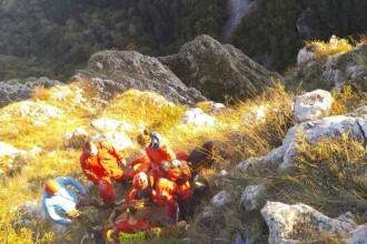 Bărbat căzut cu parapanta în Cheile Turzii. A scăpat cu viață și a ajuns la spital cu elicopterul SMURD