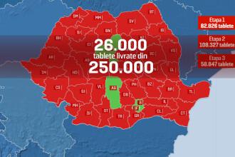 Harta roșie a promisiunilor neîndeplinite de statul român. Elevii nu pot învăța în pandemie