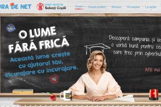 """iLikeIT. Organizația Salvați Copiii a lansat """"Ora de net"""", un program pentru profesori și părinți"""
