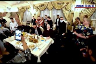 Polițiștii au oprit un botez din Brăila. Doar un lăutar purta mască, dar greşit
