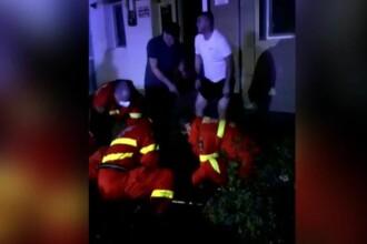 Un tânăr din Vaslui a căzut de la etaj încercând să recupereze cheile aruncate pe geam