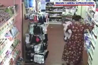Foloseau un bebeluș ca să fure din magazine. Polițiștii din Vrancea caută două suspecte