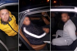 Focuri de armă în Capitală. Cum au fost prinși 4 bărbaţi care furau catalizatoare de la maşini