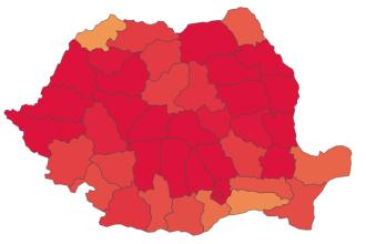 Peste 700 de cazuri noi de Covid-19 în București. Județele cu cele mai puține cazuri