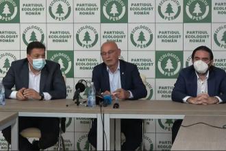 Şerban Nicolae şi Pleşoianu deschid lista de candidați ai Partidului Ecologist în București
