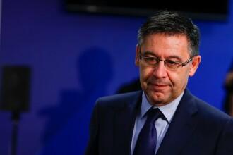 Josep Maria Bartomeu a demisionat din funcţia de preşedinte al clubului FC Barcelona