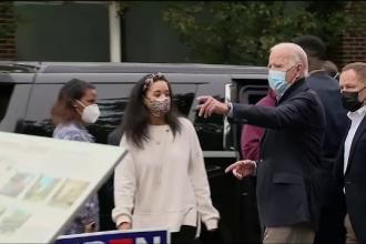 Joe Biden, avans confortabil în sondaje, în fața lui Trump