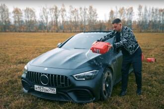 VIDEO. Un vlogger rus și-a incendiat Mercedesul de 145.000 de euro pentru că avea câteva defecțiuni