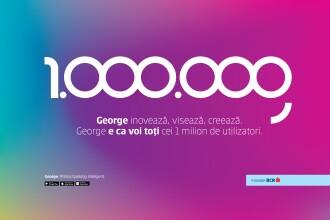 George, aplicația bancară cu cel mai mare rating din România, a trecut de 1 mil. de utilizatori activi. De ce se numește așa