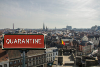 """Belgia a intrat din nou în carantină totală. Premier: """"Este ultima noastră șansă"""""""