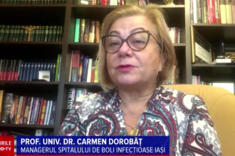Interviu cu prof. universitar din Iași. Virusul a suferit mutații, iar simptomele s-au schimbat