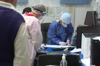 Situație critică la UPU Târgoviște. Medicii şi asistenţii cedează pe rând în fața Covid