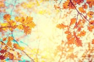 Vremea azi, 18 octombrie. Soarele începe să iasă dintre nori și ne mai încălzim