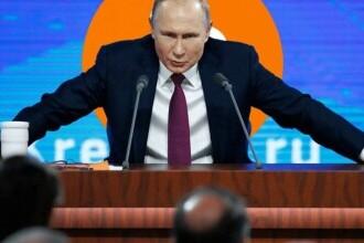 """Vladimir Putin, despre o moderatoare: """"Femeie frumoasă, dar eu îi spun un lucru şi ea afirmă altceva"""""""