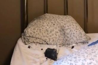 O femeie s-a trezit cu un meteorit în pat. A căzut la câțiva centimetri distanță de capul său