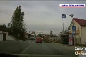 Un șofer din Iași, filmat în timp ce conducea haotic. O minune a făcut ca acesta să nu provoace o tragedie