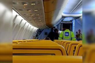Scandal într-un avion pe aeroportul din Cluj. Un bărbat a fost dat jos, pentru că nu voia să își pună masca