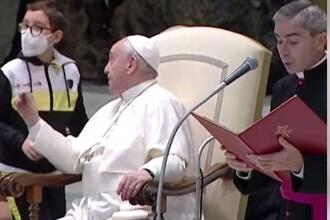 """Un băiețel a întrerupt audiența Papei pentru a-i cere boneta. """"Îi mulțumesc pentru lecția pe care ne-a oferit-o"""""""