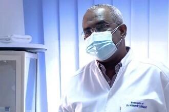 Succesul neașteptat al unui medic sudanez revenit în România. Cum își convinge pacienții că este necesar să se vaccineze