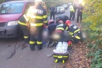 Accident grav în Cluj. Un bărbat a murit şi o femeie a fost rănită. A intervenit un elicopter SMURD