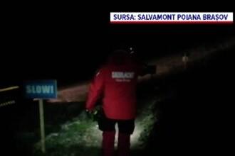 Salvamontiștii au căutat 4 ore noaptea un bărbat care era acasă
