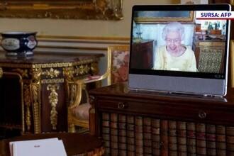 Regina Elisabeta ia parte la întâlnirile importante prin conferințe video
