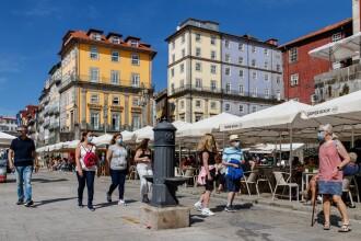 Rata de incidenţă Covid-19 creşte în Portugalia, ţară cu 85,9% din populaţie vaccinată