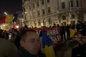 VIDEO Protest împotriva vaccinării, în Piața Universității. Printre participanți se află și George Simion