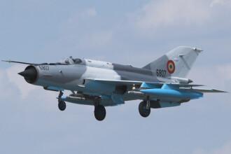 Cutia neagra a avionului MiG 21 care s-a prabusit luni a fost gasita