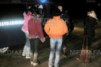 Razie cu scandal printre prostituate, in Ilfov