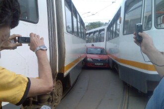 Politia Romana avertizeaza: Castiga timp, nu bloca intersctia!