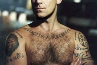 Robbie Williams a fumat cauciuc in loc de marijuana!