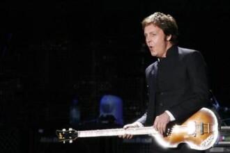 Paul McCartney canta la Tel Aviv la 40 de ani de la interzicerea Beatles