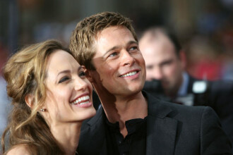 Angelina Jolie si Brad Pitt cele mai puternice vedete